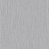 Arthouse Samba Plain Silver Wallpaper