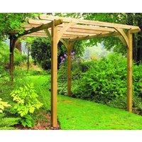 Forest Garden Pergola Kit 7x7ft Softwood