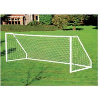Charles Bentley 12ft x 6ft Football Goal Post, Net, Pegs ABS