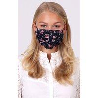 Stoffmaske 3-lagig mit Nasenbügel LIZZY A