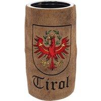 Weinkühler mit Leder TIROL braun
