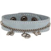 Armband 19-3708 Velour hellblau