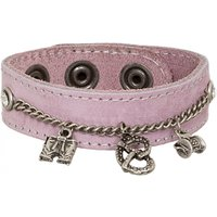 Armband 19-3702 Velour pink