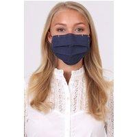 Stoffmaske 3-lagig mit Nasenbügel LINDA A