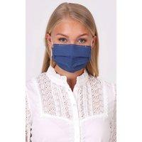 Stoffmaske 3-lagig mit Nasenbügel LINDA B