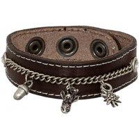 Armband 19-3704 Nappa braun