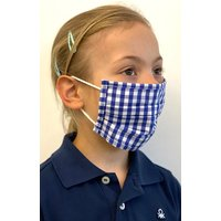 Kinder Stoffmaske 489000-2652-42 blau