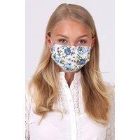 Stoffmaske 3-lagig mit Nasenbügel LIZZY B