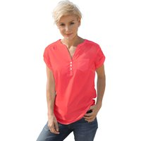 Collection L Damen Bluse rot Gr. 36