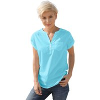 Collection L Damen Bluse blau Gr. 42