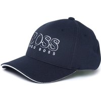 BOSS Athleisure Textured Navy Baseball Cap