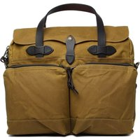 Filson Dark Tan 24 Hour Tin Bag