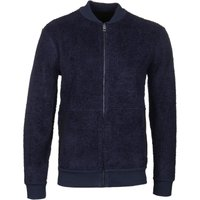 BOSS Ziggler Dark Blue Zip Sweat