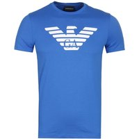 Emporio Armani Big Eagle Blue Logo T-Shirt