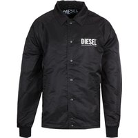 Diesel J-akio Black Coach Jacket