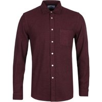 Portuguese Flannel Teca Bordeaux Long Sleeve Shirt
