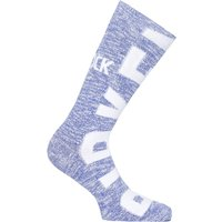 Birkenstock Big Logo Cotton Slub Blue Socks