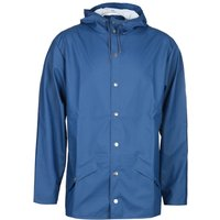 Rains Klein Blue Hooded Jacket