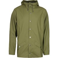 Rains Sage Green Hooded Jacket