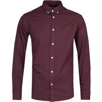 NN07 5722 Levon Burgundy Long Sleeve Shirt