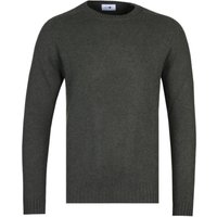 NN07 6212 Nathan Army Green Woollen Sweater