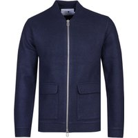 NN07 6360 Boiled Navy Bomber Jacket