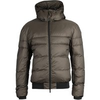 Emporio Armani Hooded Forest Green Puffer Jacket