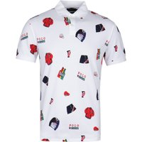 Polo Ralph Lauren Chariots Of Fire Custom Slim Fit White Polo Shirt