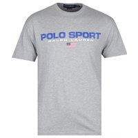 Polo Sport Grey Marl Logo T-Shirt