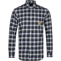 Polo Ralph Lauren Sage Green Checked Custom Fit Shirt