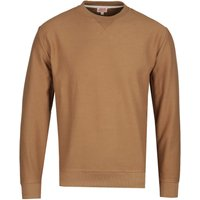 Armor Lux Crew Neck Tan Sweatshirt