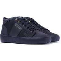 Android Homme Propulsion Mid Navy Stingray Suede Trainers