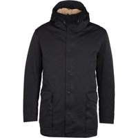 Ten C Fixed Down Padded Black Cannon Jacket