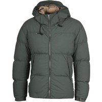 Ten C Down Padded Khaki Hooded Jacket