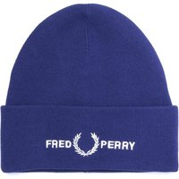 Fred Perry Navy Logo Beanie