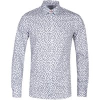 PS Paul Smith Long Sleeve Tailored Fit White Shirt