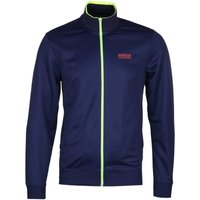 Barbour International Slim Fit Transmission Navy Track Jacket