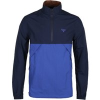 Barbour-Beacon-Contrast-Panel-Navy-and-Blue-Quarter-Zip-Pull-Over