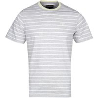 Barbour-Portree-Grey-Marl-and-White-Striped-TShirt