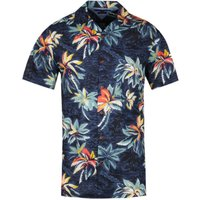 Tommy Hilfiger Short Sleeve Hawaiian Print Shirt