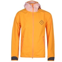 Barbour Beacon Etterick Orange Hooded Jacket