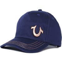 True Religion 3D Embroidered Horseshoe Navy Cap