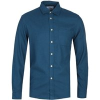 Portuguese Flannel Teca French Blue Shirt