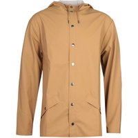 Rains Fishtail Waterproof Khaki Jacket