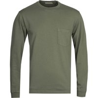 Nudie Jeans Co Rudi Heavy Pocket Olive T-Shirt