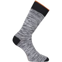 Nudie Jeans Co Rasmusson Multi Yarn Black Socks