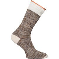 Nudie Jeans Co Rasmusson Multi Yarn Beige Socks