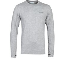 Columbia Tech Trail Grey Heather Long Sleeve T-Shirt