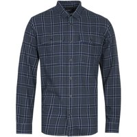 Filson Scout Faded Black, Indigo & White Plaid Shirt