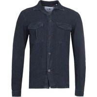 NN07 1235 Berner Relaxed Navy Shirt